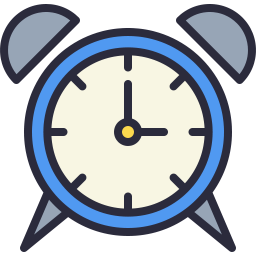 Free alarm outline filled icon & Download free icons for commercial use