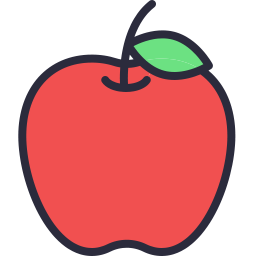 Free apple outline filled icon & Download free icons for commercial use