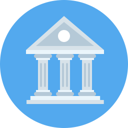 Bank Icon Flat - Icon Shop - Download free icons for commercial use