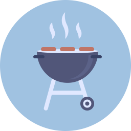 Free barbeque flat icon & Download free icons for commercial use