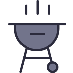 Free barbeque outline filled icon & Download free icons for commercial use