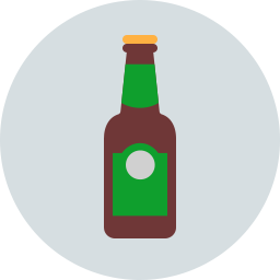 Free beer bottle flat icon & Download free icons for commercial use