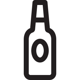 Free beer bottle outline icon & Download free icons for commercial use