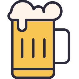 Free beer outline filled icon & Download free icons for commercial use