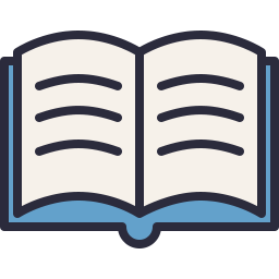 Open Book Icon Outline Filled - Icon Shop - Download free