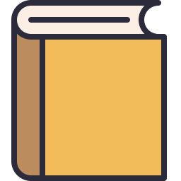 Free book outline filled icon & Download free icons for commercial use