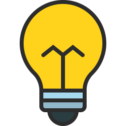 Free bulb curvy outline filled icon & Download free icons for commercial use