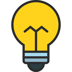 Free bulb outline filled icon & Download free icons for commercial use