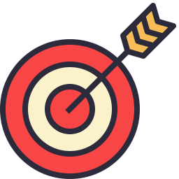 Free bullseye outline filled icon & Download free icons for commercial use