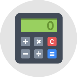 Calculator Icon Flat - Icon Shop - Download free icons for commercial use