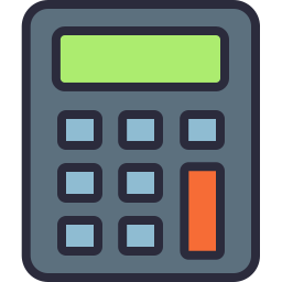 Free calculator outline filled icon & Download free icons for commercial use