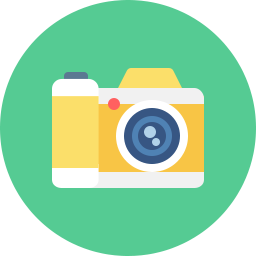 Free camera flat icon & Download free icons for commercial use