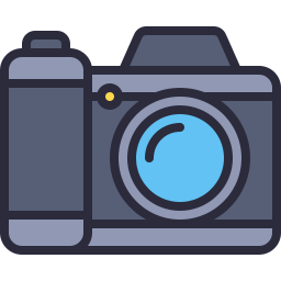 Free camera outline filled icon & Download free icons for commercial use