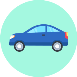 Free car flat icon & Download free icons for commercial use