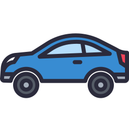 Free car outline filled icon & Download free icons for commercial use