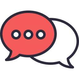 Free chat outline filled icon & Download free icons for commercial use