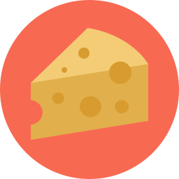 Free cheese flat icon & Download free icons for commercial use