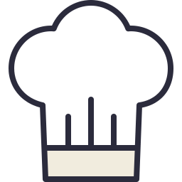 Free chef outline filled icon & Download free icons for commercial use