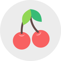 Free cherries flat icon & Download free icons for commercial use