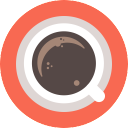 Free Coffee Icon Flat & Download free icons for commercial use
