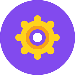 Free cog flat icon & Download free icons for commercial use