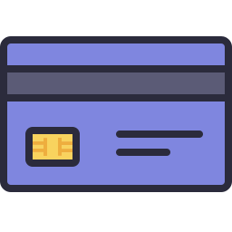 Credit Card Icon Outline Filled Icon Shop Download Free Icons For Commercial Use