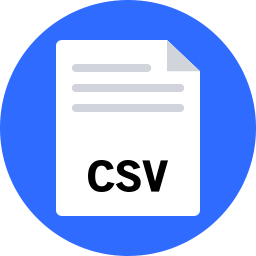 Free csv flat icon & Download free icons for commercial use