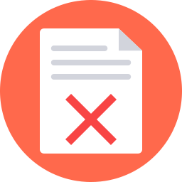 Free document error flat icon & Download free icons for commercial use