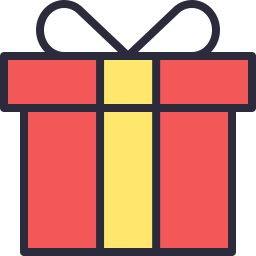 Gift icon outline filled icon shop download free icons for free gift outline filled icon download free icons for commercial use negle Choice Image