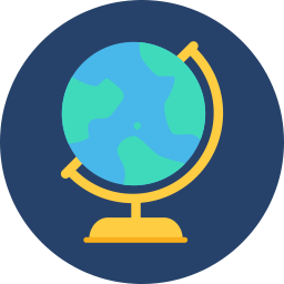 Free globe flat icon & Download free icons for commercial use