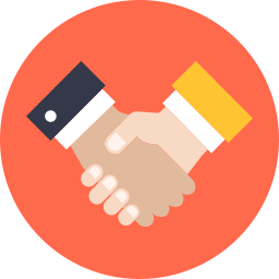 Free handshake flat icon & Download free icons for commercial use