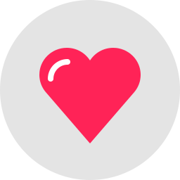 Free heart compact flat icon & Download free icons for commercial use