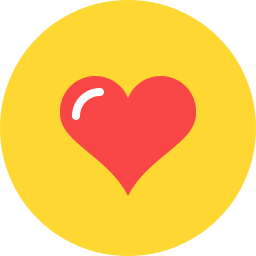 Free heart curvy flat icon & Download free icons for commercial use