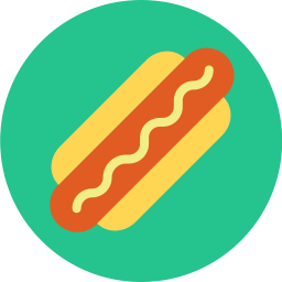 Free hotdog flat icon & Download free icons for commercial use