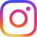 Free instagram new color flat 128x128 icon & Download free icons for commercial use