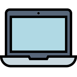 Free laptop outline filled icon & Download free icons for commercial use