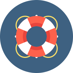 Free lifesaver flat icon & Download free icons for commercial use