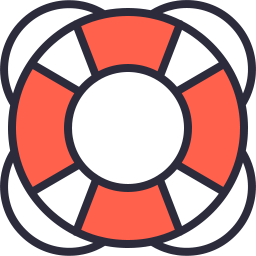 Free lifesaver outline filled icon & Download free icons for commercial use