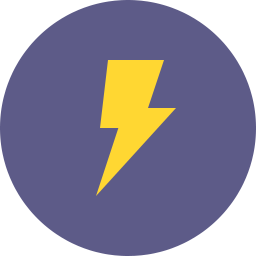 Free lightning flat icon & Download free icons for commercial use