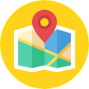 Free location map flat 128x128 icon & Download free icons for commercial use