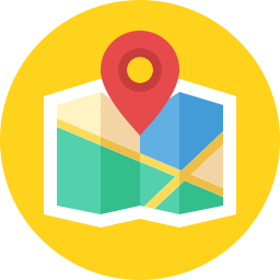 Free location map flat icon & Download free icons for commercial use