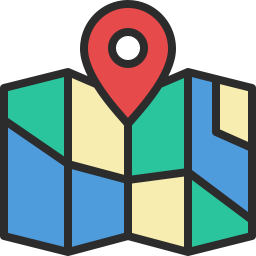 Free location map outline filled icon & Download free icons for commercial use