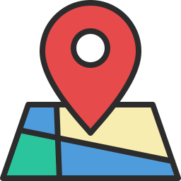 Free location marker outline filled icon & Download free icons for commercial use