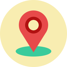 Free location pin compact flat icon & Download free icons for commercial use