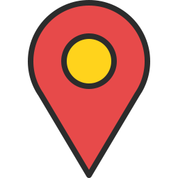Free location pin compact outline filled icon & Download free icons for commercial use
