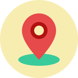 Free location pin flat icon & Download free icons for commercial use