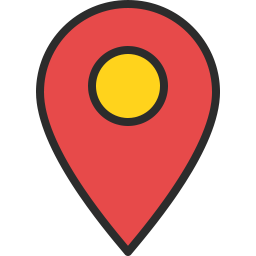 Free location pin outline filled icon & Download free icons for commercial use