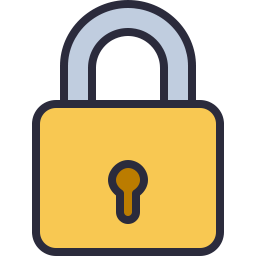 Free lock outline filled icon & Download free icons for commercial use