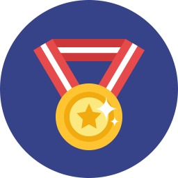 Free medal flat icon & Download free icons for commercial use