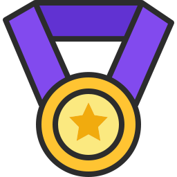 Free medal outline filled icon & Download free icons for commercial use